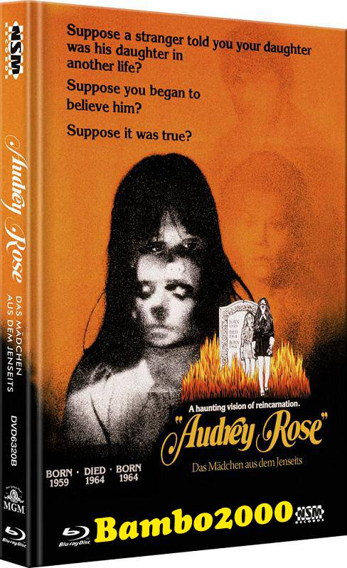 *AUDREY ROSE *UNCUT* COVER B *DVD+BLU-RAY MEDIABOOK* NEU/OVP
