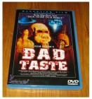 BAD TASTE - Marketing - Splatter - Uncut - DVD - Deutsch