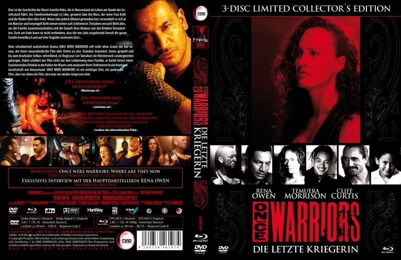 Die letzte Kriegerin / Once were Warriors * 3 Disc Mediabook
