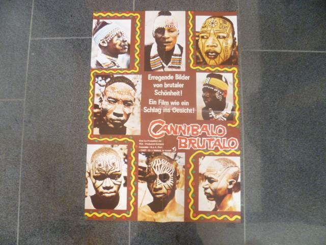 CANNIBALO BRUTALO - ORIGINAL KINOPLAKAT A2