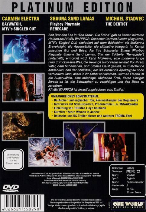Raven Warrior - Platinum Edition - DVD