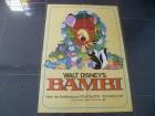 BAMBI - Walt Disney   - ORIGINAL KINOPLAKATA1