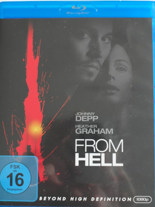 From Hell - Jack the Ripper - Huren Mörder - Johnny Depp