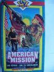 American Mission - Sie T�ten um zu �berleben Pappschuber !!