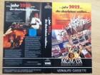 VHS - Cover - jahr 2022 die überleben wollen