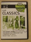 4  x Monsterfest - Atomic Brain / Night Tide .... 2 DVD Set