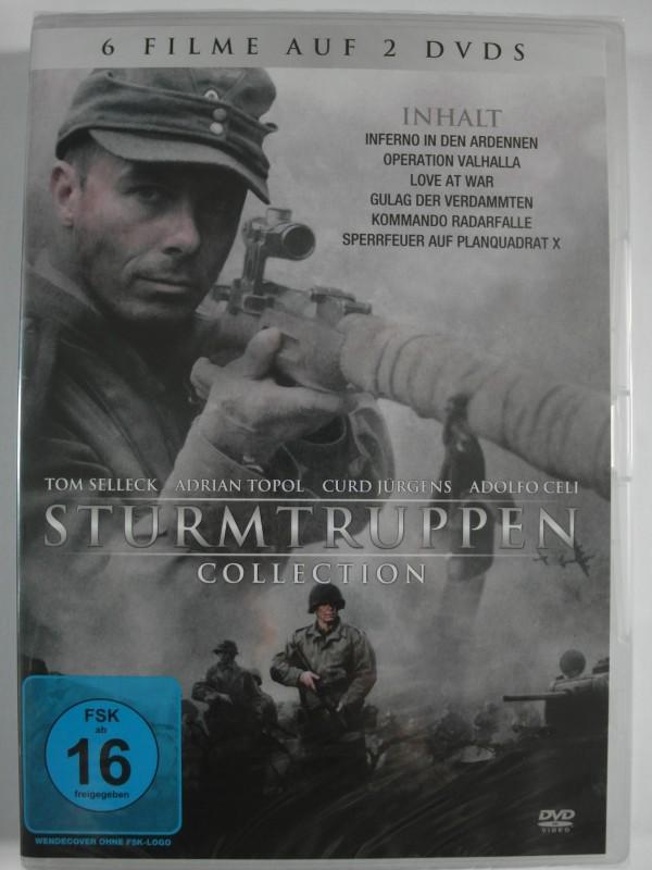 6 Filme Sturmtruppen Collection - Ardennen, Valhalla, Gulag