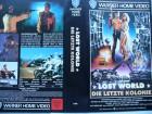 Lost World - Die letzte Kolonie ... Michael Paré .. VHS  !!