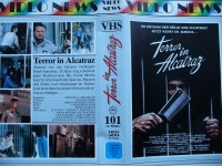 Terror in Alcatraz ... Aldo Ray ...  Action -  VHS !!!