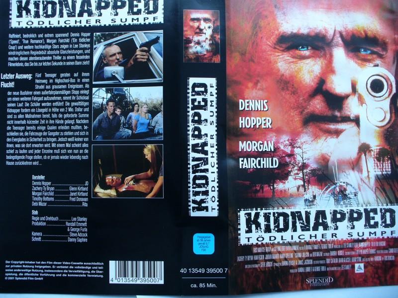 Kidnapped - Tödlicher Sumpf ... Dennis Hopper ...  VHS !!