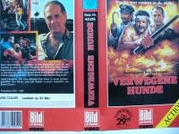 Verwegene Hunde ... David Carradine  ... Action - VHS !!!