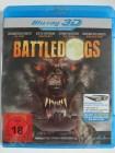 Battledogs - Horror Hunde in 3D - Werwolf, Militär Gefängnis