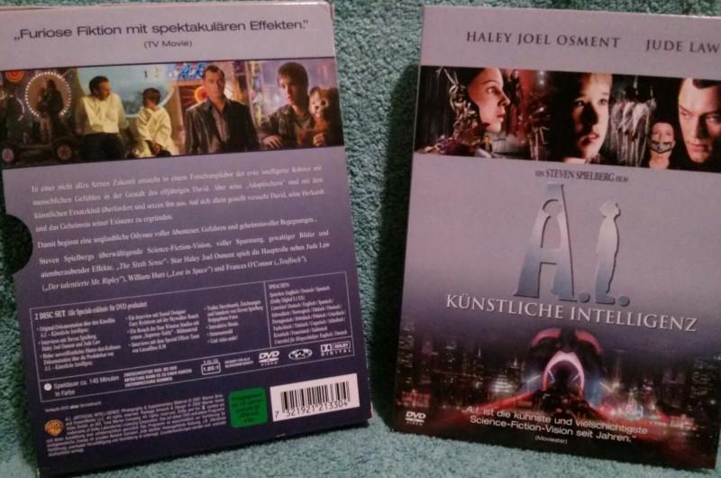 A.I. Künstliche Intelligenz Steven Spielberg (Y)