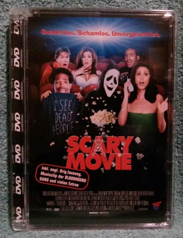 Scary Movie DVD Erstausgabe! (Y)