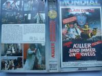 Killer sind immer unterwegs ... Alain Delon ... VHS !!!