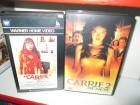 VHS - Carrie Teil 1 + 2 - WARNER - MGM
