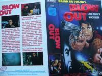 Blow Out ... John Travolta, Nancy Allen  ... VCL - VHS !!!