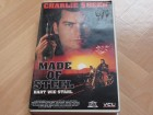 VCL-VIDEO CHARLIE SHEEN MADE OF STEEL HART WIE STAHL VHS