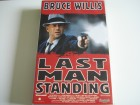 LAST MAN STANDING - Bruce Willis & Christopher Walken VHS