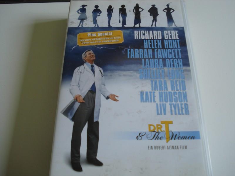 DR. T & THE WOMEN - Richard Gere & Helen Hunt  VHS wie Neu