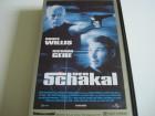DER SCHAKAL mit Bruce Willis & Richard Gere VHS wie Neu