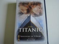TITANIC mit Leonardo DiCaprio & Kate Winslet VHS wie Neu