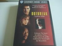 OUTBREAK - Lautlose Killer mit Dustin Hoffman Rene Russo VHS