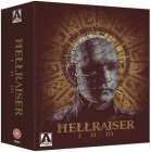 HELLRAISER TRILOGY from ARROW New & Sealed