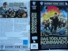 Das tödliche Kommando ... Burt Lancaster ...  VHS !!