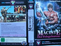 Maciste - Der Felsgeborene ... Dante di Paolo ...  VHS !!