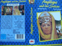 Angelique und der Sultan ,,, Michéle Mercier ...  VHS !!