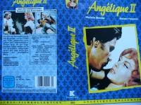 Angelique II ,,, Michéle Mercier ...  VHS !!