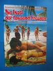 orig.   kinoplakat  DIE INSEL DER TAUSEND FREUDEN erotik
