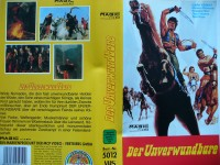 Der Unverwundbare ... Mark Forest  ... VHS !!!