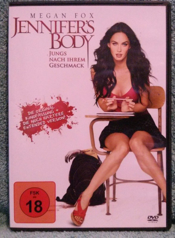 Jennifer's Body Megan Fox DVD Uncut (Y)