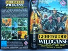 Geheimcode Wildgänse ... Lee Van Cleef  ...  UfA - VHS !!!