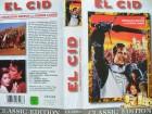 El Cid ...  Charlton Heston, Sophia Loren ...  VHS !!!