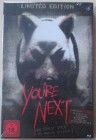 YOU RE NEXT - LIMITED EDITION - STEELBOOK - NEU & OVP