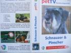 Schnauzer & Pinscher  - Rassehundporträt ...  VHS !!!
