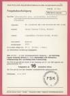 FSK-Karte Trailer DIE RÜCKKEHR DER REITENDEN LEICHEN 1973