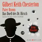 Pater Brown - Das Duell des Dr. Hirsch Audio-CD – 2013 OVP