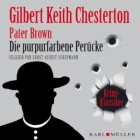 Pater Brown - die purpurfarbene Peruecke Audio-CD OVP
