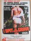 I Spit on Your Grave Postkarte (sehr selten)