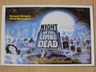 Night of the Living Dead Postkarte (George A. Romero, rar)