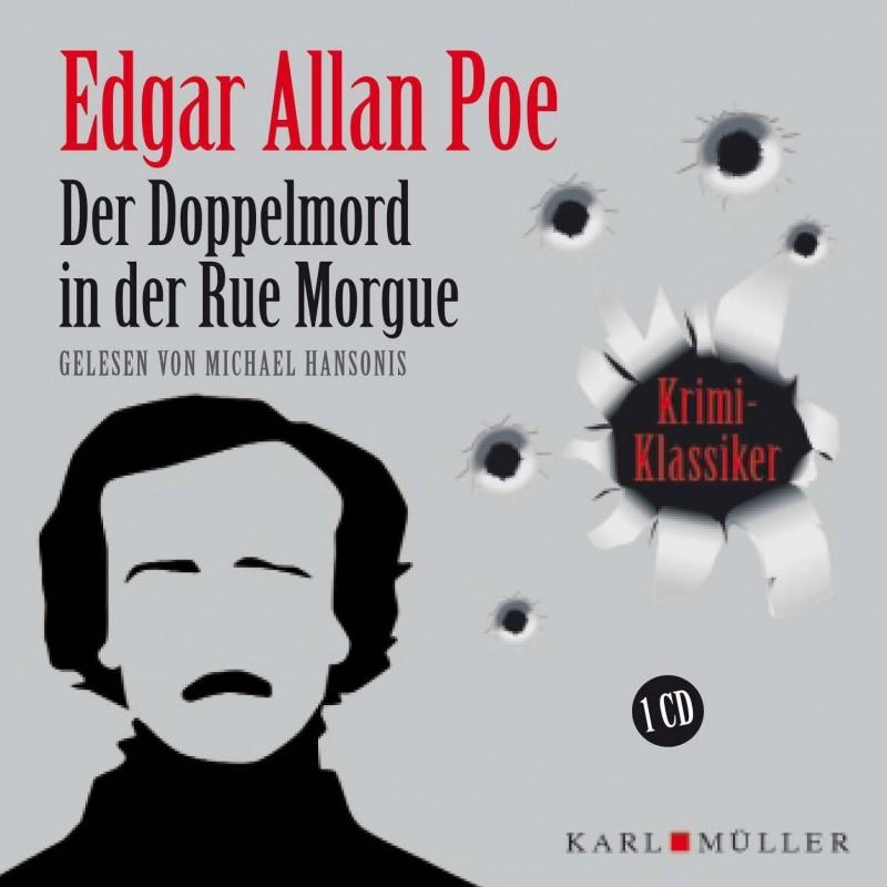 Der Doppelmord in der Rue Morgue Audio-CD OVP