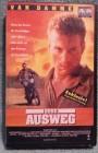 Ohne Ausweg VHS Uncut Erstausgabe van Damme (B01)