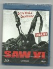 SAW VI - unrated, Blu-ray
