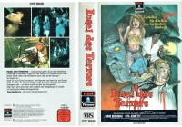 (VHS) Insel des Terrors - (Sonderauflage) mit 3-D Prägecover