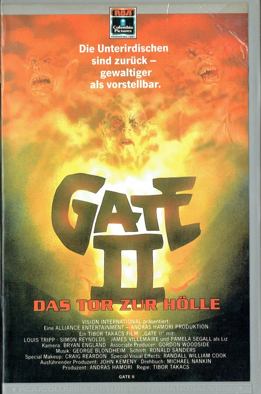 (VHS) Gate 2 - Das Tor zur Hölle - uncut Version (Hartbox)
