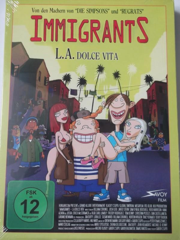 Immigrants - L.A. Dolce Vita - Von Machern The Simpsons